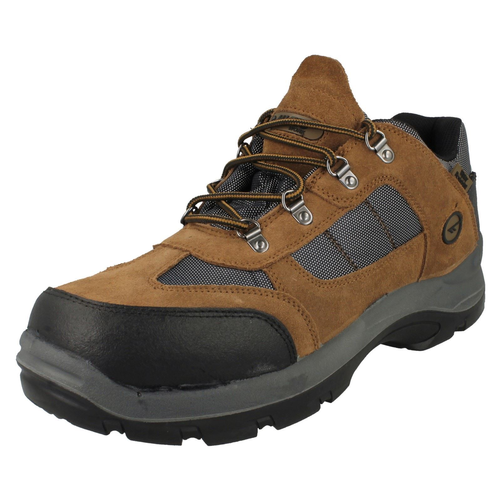 Mens Hi-Tec Lace Up Boots Safe *Hike Low*