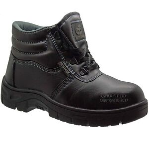 NEW-MENS-LIGHTWEIGHT-CHUKKA-LEATHER-SAFETY-STEEL-TOE-CAP-WORK-HIKING-BOOTS-SHOE