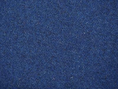 Filz Wollfilz ca 3 mm Stark blau meliert Meterware Filzstoff Schurwollfilz 3mm