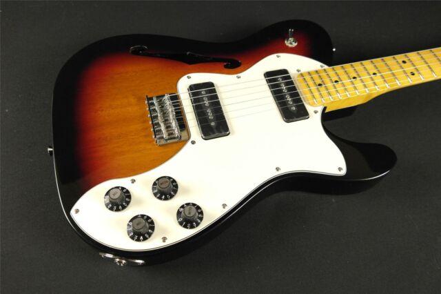 Fender Modern Player Telecaster Thinline Deluxe 3-Color Sunburst (958)