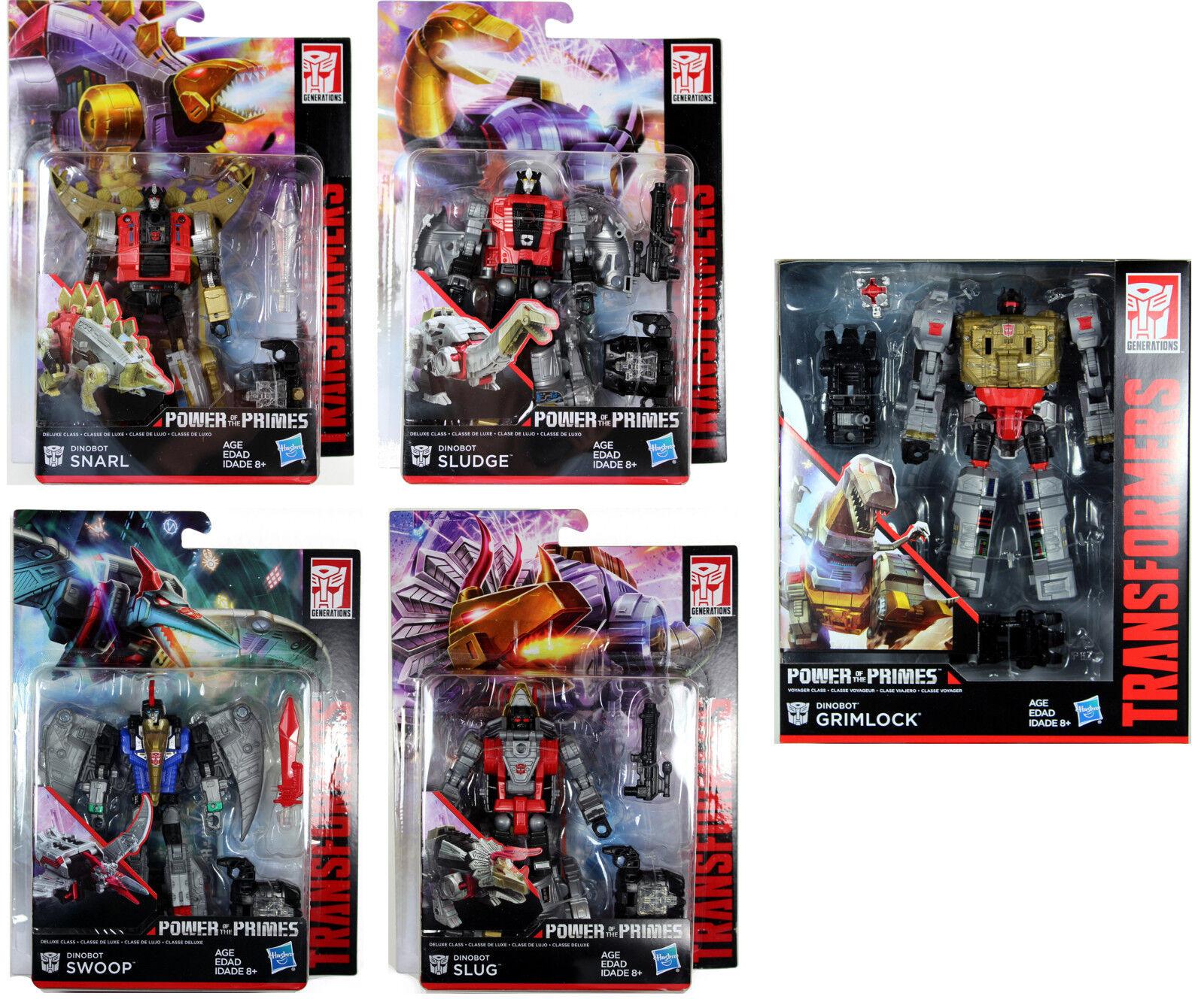 Transformers  DINOBOTS VOLCANICUS COMBINER SET  Power of the Primes