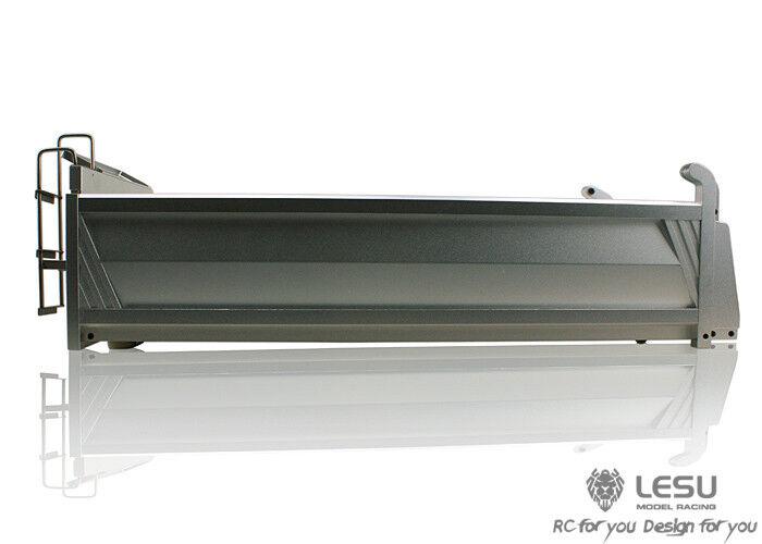 tienda de venta Lesu 400 mm Metal Cubo De Carga Contenedor para para para  Tamiya RC 66 camión Hágalo usted mismo  Obtén lo ultimo