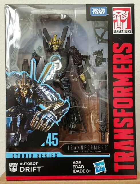 Transformers Age of Extinction Generations Voyager Class Autobot Drift Figure