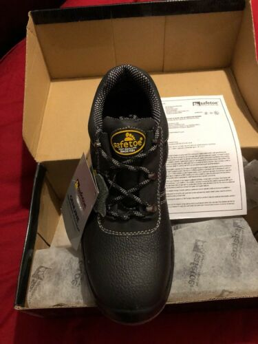 per uomo nero e acciaio Safetoe donna di Extra sicurezza in Stivali Wide Fitting xWRB8qvwz