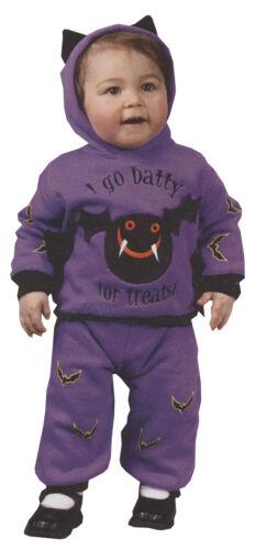 Hooded Top Bat Infants Costume Wings And Ears Halloween Dress Up Funworld