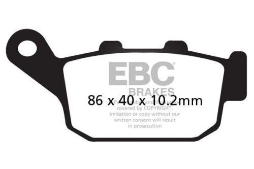 FIT HONDA NX 650 N//P//R//S//T Dominator 92/>96 EBC Sintered Pad Set Rear