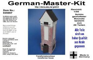 035007-Resin-Trafohaus-Kit-1-35-Diorama-Zubehoer-GMK-World-War-II