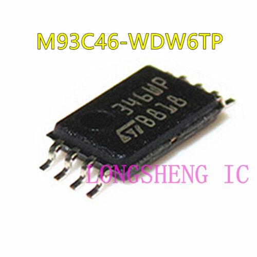 5PCS M93C46-WDW6TP 93C46 C46WP TSSOP8 NEW
