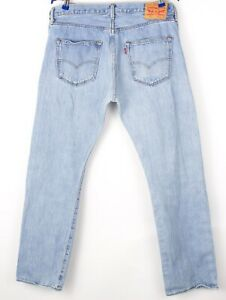 Levi's Strauss & Co Hommes 501 Jeans Jambe Droite Taille W38 L30 BCZ260