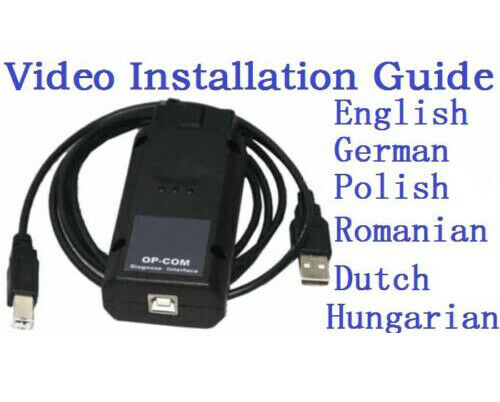 Opel / Vauxhall Fault Code Reader Scanner Engine ABS Airbag Service Reset  Tool