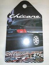 Ford Escort Chicane Showroom Rear View Mirror Hanger brochure c1996 ref SP 5190
