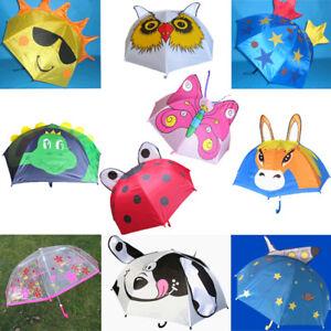 Los-ninos-paraguas-Dino-caballo-estrella-mariposa-sol-espacio-escarabajo-paraguas