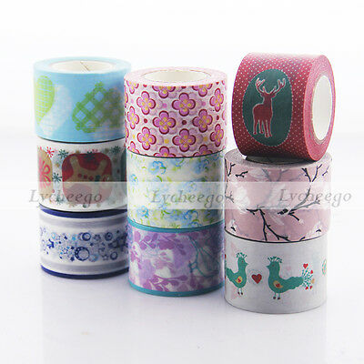 3cm Width Christmas Washi Tape Scrapbooking Stickers Decorative Sticky Tape 1pc