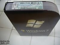 Microsoft Windows 7 Ultimate Full 32 Bit & 64 Bit Ms Win Pro=brand Box=