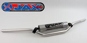 Jax Metals Motocross Zx12 Guidon Suzuki Fatbar Alvéolaire 98bk Black 28mm