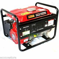 1500 Watts 1500w Portable Gas Generator 110v 10amp 80cc Egnine Epa Certified