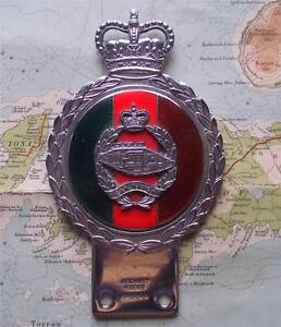 Original-Vintage-Car-Mascot-Badge-British-Army-Tank-Corps-Regiment-by-Gaunt