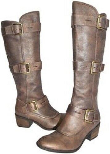 Donald J Pliner Womens Womens Womens Brown  Metallic  Suede Dax Fashion Boots shoes Size 6 M 4e5077