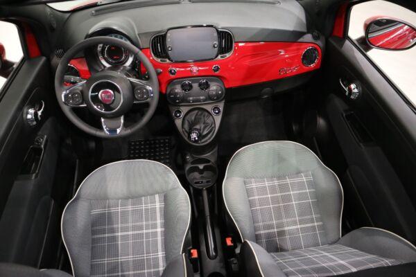 Fiat 500C 1,2 Lounge billede 10