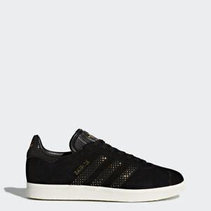 adidas by9364 donne gazzella scarpe oro nero scarpe ebay