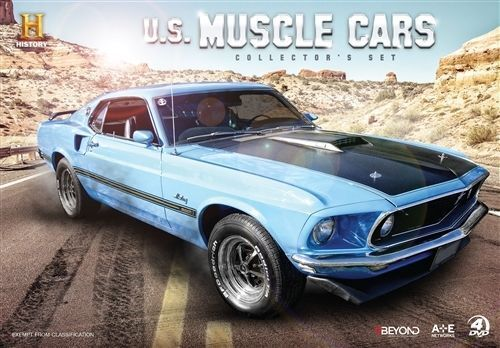 1 of 1 - NEW US Muscle Cars Collector's Set