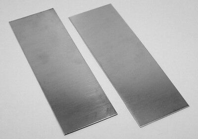 "Nickel Silver Sheet Bracelet Blanks 22ga 6/"" x 1/"" .64mm Thick Pkg Of 6"