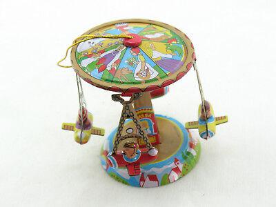 Blechspielzeug Deko Karussell Radrennfahrer  4370278