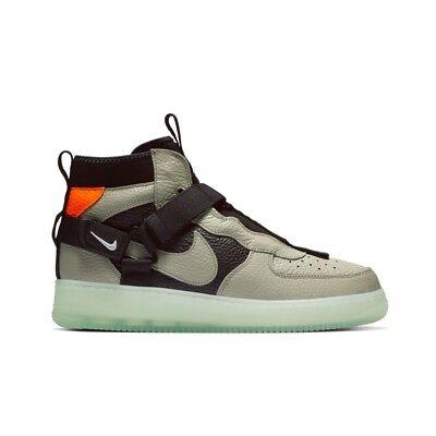 Nike Air Force 1 Mid Utility Spruce Fog AQ9758 300 Release