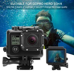 Underwater-45m-Diving-Housing-Waterproof-Case-Cover-for-Gopro-Hero-3-3-4-Camera