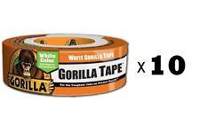 1x Gorilla Duct Tape 1.88in X 105ft Black Heavy Duty Tape Pro Builder Contractor