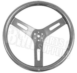 "Unfinished 12"" Round Aluminum Steering Wheel Racing Go Kart Fun Cart Bar Stool"