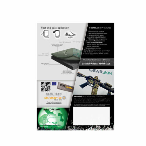 COMPACT ATACS FG Mil-spec fabric sheet wrap IR proof All surface waterproof