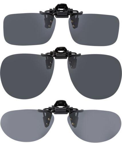 Leader Polarised Flip-up Clip On Sunglasses