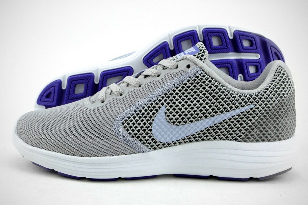 Nike Revolution 3 femmes 819303-014 gris BLEU Chaussures nouveau sport taille 36