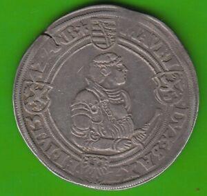 Saxony Guldengroschen 1542 Ausbeute Saint Clement Very Rarely nswleipzig