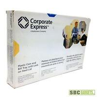 Corporate Express Coin And Bill Tray With Metal Security Lid (model: Ceb10620)