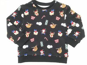 Next Christmas Jumpers.Details About Next Unisex Boys Christmas Jumper Top Sweater Top Age 3