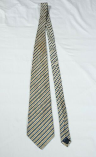 Saint Germain Mens Silk Striped Tie
