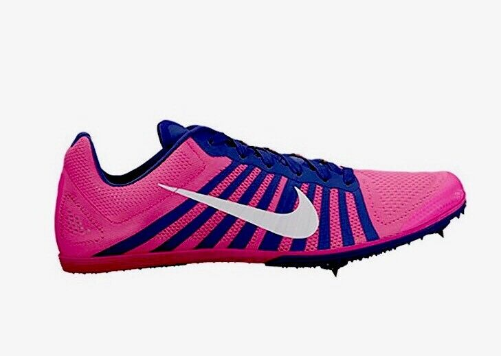 Nike Zoom D Unisex Spikes Track Running Shoes 819164 615 Size Pink Men's 7.5