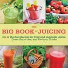 The Big Book of Juicing : More Than 150 Delicious Recipes for Fruit and Vegetable Juices, Green Smoothies, and Probiotic Drinks by Skyhorse Publishing Inc. (2015, Hardcover)