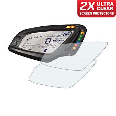 2 x MV AGUSTA BRUTALE 675 DRAGSTER 800 tableau de bord protecteur d/'écran Ultra-Clear