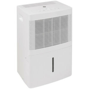 GE ADEL20LY Portable Home Dehumidifier, 20 Pints, White (Certified Refurbished)