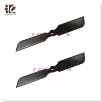 2x Tail Blade For Jxd 350 / Viefly V30 Rc Helicopter Spare Parts 350-16