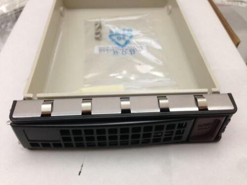 "*NEW* Supermicro MCP-220-97301-0B Hot-Swap Black 3.5/"" Hard Drive Tray 6/"""