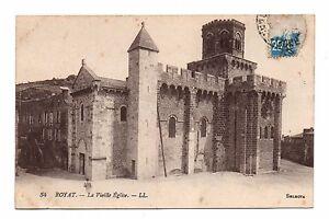 63-cpa-ROYAT-La-vieille-eglise-C2876