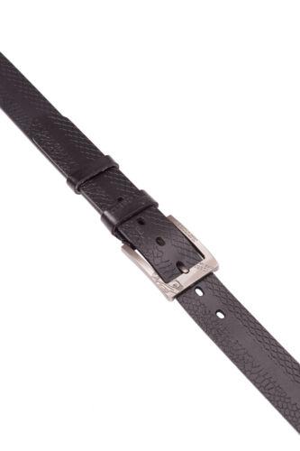 """Da Uomo 1,5 /""""Serpente Modello Premium In Pelle Cintura Pin Fibbia in metallo formale business WA"""