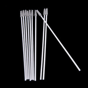10pcs-Stainless-Steel-Straw-Reusable-Washable-Cleaner-Cleaning-Brush-NEW-FG