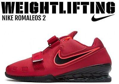 Sporting Nike Romaleos 2 Weightlifting Powerlifting Shoes Gewichtheben Schuhe Ausreichende Versorgung