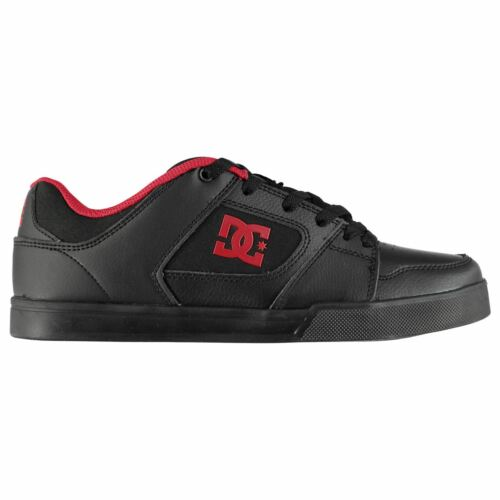 DC Mens Blitz II Trainers Skate Shoes Lace Up Padded Ankle Collar Tongue Tonal