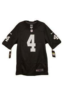 Details about AUTHENTIC NIKE ON FIELD JERSEY DEREK CARR #4 [MENS SMALL] LAS VEGAS RAIDERS!!!